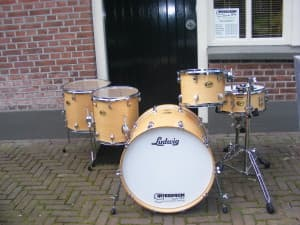 Ludwig Centenial Maple set